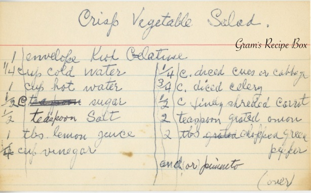 Crisp Veggie Salad 1