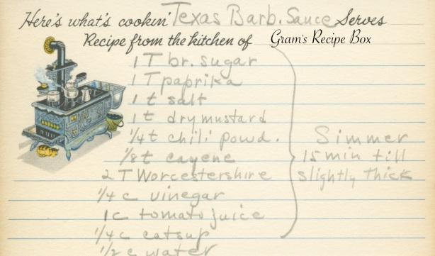 Texas Barb Sauce